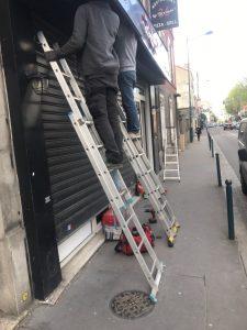 installation des rideaux métalliques àSeine Et Marne