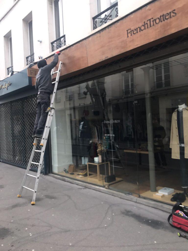 Installation Rideau Metallique Chatenay sur Seine 77126.